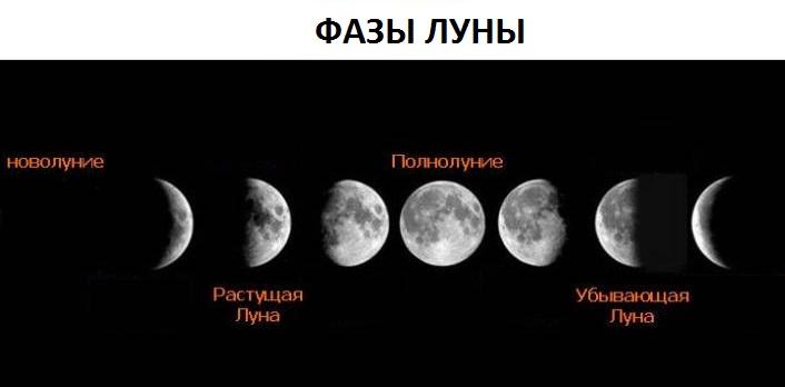 яка фаза місяця сьогодні магазинов России