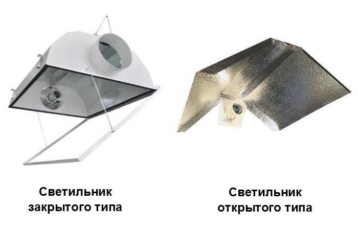 Выбор светильника для гроубокса
