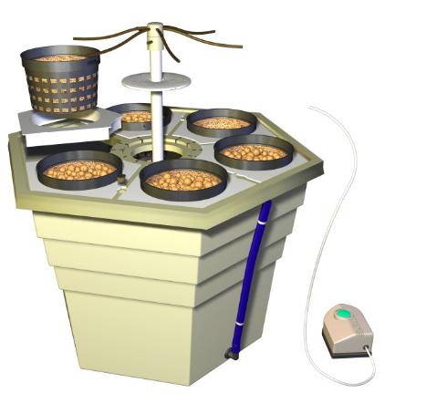 Гидропонная установка EcoGrower