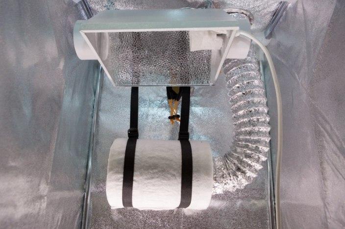 Как установить угольный фильтр в гроубокс